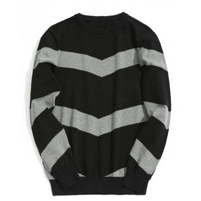 Stripe Mens Sweater