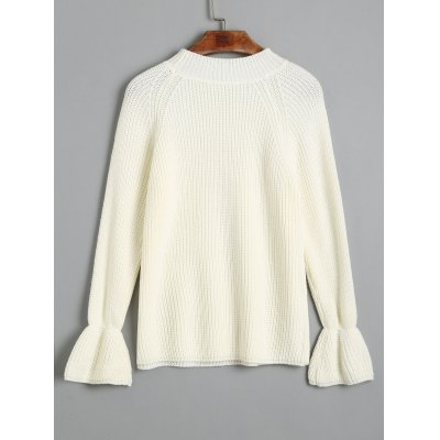 Mock Neck Pullover Raglan Sleeve SweaterSweaters &amp; Cardigans<br>Mock Neck Pullover Raglan Sleeve Sweater<br><br>Collar: Mock Neck<br>Material: Acrylic, Cotton, Polyester, Spandex<br>Package Contents: 1 x Sweater<br>Pattern Type: Solid<br>Sleeve Length: Full<br>Style: Fashion<br>Type: Pullovers<br>Weight: 0.3700kg