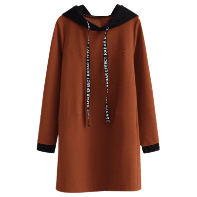 Letter Two Tone Longline Drawstring HoodieSweatshirts &amp; Hoodies<br>Letter Two Tone Longline Drawstring Hoodie<br><br>Clothing Style: Hoodie<br>Material: Cotton, Polyester<br>Package Contents: 1 x Sweatshirt<br>Pattern Style: Patchwork<br>Shirt Length: Long<br>Sleeve Length: Full<br>Weight: 0.7000kg