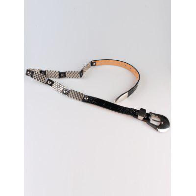 Vintage Carved Metal Faux Leather Single Buckle Skinny BeltWomens Belts<br>Vintage Carved Metal Faux Leather Single Buckle Skinny Belt<br><br>Belt Length: 110CM<br>Belt Material: PU<br>Belt Silhouette: Buckle<br>Belt Width: 2.5CM<br>Gender: For Women<br>Group: Adult<br>Package Contents: 1 x Belt<br>Pattern Type: Others<br>Style: Fashion<br>Weight: 0.1190kg