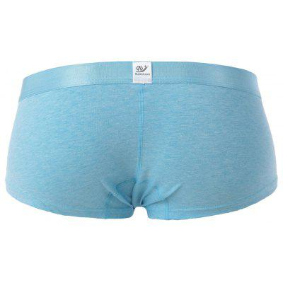 Elephant Nose Convex Pouch TrunkMens Underwear &amp; Pajamas<br>Elephant Nose Convex Pouch Trunk<br><br>Gender: Men<br>Material: Cotton, Spandex<br>Package Contents: 1 x Trunk<br>Pattern Type: Solid<br>Weight: 0.1200kg