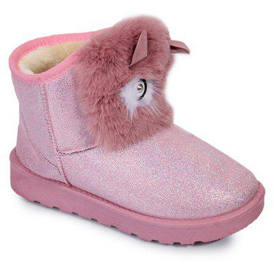 Glitter Cartoon Cat Snow Boots