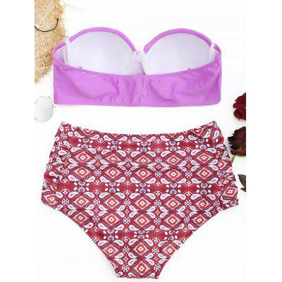 Underwire Paisley Print Plus Size Bikini SetPlus Size<br>Underwire Paisley Print Plus Size Bikini Set<br><br>Gender: For Women<br>Material: Nylon, Spandex<br>Package Contents: 1 x Bra  1 x Briefs<br>Pattern Type: Paisley<br>Support Type: Underwire<br>Swimwear Type: Bikini<br>Waist: High Waisted<br>Weight: 0.2900kg