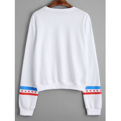 Front Logo Star Loose SweatshirtSweatshirts &amp; Hoodies<br>Front Logo Star Loose Sweatshirt<br><br>Clothing Style: Sweatshirt<br>Material: Cotton, Polyester<br>Package Contents: 1 x Sweatshirt<br>Pattern Style: Print<br>Shirt Length: Regular<br>Sleeve Length: Full<br>Weight: 0.4000kg