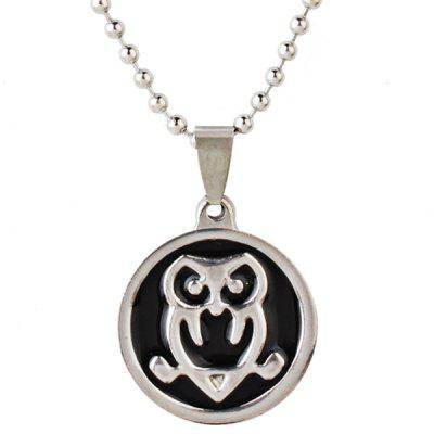 Stainless Steel Engraved Animal Bead Chain Necklace
