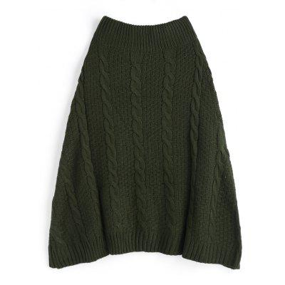 A Line Plain Cable Knit SkirtSkirts<br>A Line Plain Cable Knit Skirt<br><br>Length: Mid-Calf<br>Material: Polyester<br>Package Contents: 1 x Skirt<br>Pattern Type: Solid<br>Silhouette: A-Line<br>Weight: 0.6850kg