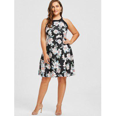 Plus Size Floral Print Sleeveless DressPlus Size Dresses<br>Plus Size Floral Print Sleeveless Dress<br><br>Dresses Length: Knee-Length<br>Material: Cotton, Polyester<br>Neckline: Round Collar<br>Package Contents: 1 x Dress<br>Pattern Type: Solid<br>Season: Fall, Spring, Summer<br>Silhouette: A-Line<br>Sleeve Length: Sleeveless<br>Style: Casual<br>Weight: 0.3600kg<br>With Belt: No