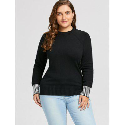 Plus Size High Low Striped SweaterPlus Size<br>Plus Size High Low Striped Sweater<br><br>Collar: Crew Neck<br>Material: Acrylic, Polyester<br>Package Contents: 1 x Sweater<br>Pattern Type: Striped<br>Season: Fall, Spring<br>Sleeve Length: Full<br>Style: Casual<br>Type: Pullovers<br>Weight: 0.4900kg