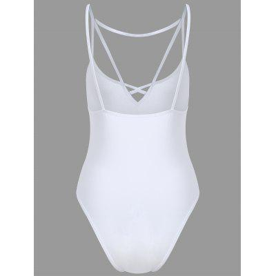 Caged TeddiesLingerie &amp; Shapewear<br>Caged Teddies<br><br>Bra Style: Bralette<br>Closure Style: None<br>Cup Shape: Three Quarters(3/4 Cup)<br>Embellishment: None<br>Materials: Nylon, Spandex<br>Package Contents: 1 x Teddies<br>Pattern Type: Solid<br>Strap Type: Non-adjusted Straps<br>Style: Everyday<br>Support Type: Wire Free<br>Weight: 0.1450kg