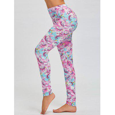 Skinny Print High Waist Leggings