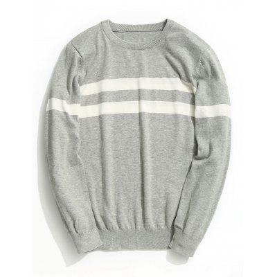 Mens Striped Knitwear