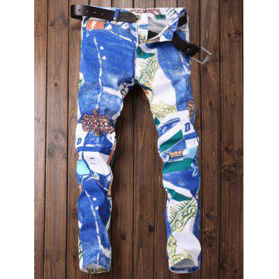 Zipper Fly Color Block Panel Tie Dye Print JeansMens Pants<br>Zipper Fly Color Block Panel Tie Dye Print Jeans<br><br>Closure Type: Zipper Fly<br>Fit Type: Regular<br>Material: Cotton, Polyester, Jean<br>Package Contents: 1 x Jeans<br>Pant Length: Long Pants<br>Pant Style: Straight<br>Wash: Bleach<br>Weight: 0.5200kg<br>With Belt: No