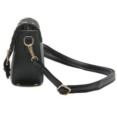Flower Embroidery Rivets Buckle Strap Crossbody BagCrossbody Bags<br>Flower Embroidery Rivets Buckle Strap Crossbody Bag<br><br>Closure Type: Magnetic Closure<br>Embellishment: Embroidery<br>Gender: For Women<br>Handbag Size: Small(20-30cm)<br>Handbag Type: Crossbody bag<br>Main Material: PU<br>Occasion: Versatile<br>Package Contents: 1 x Crossbody Bag<br>Pattern Type: Floral<br>Size(CM)(L*W*H): 22*8.5*17<br>Style: Fashion<br>Weight: 0.6000kg