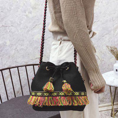 Tassel Full Color String Crossbody BagCrossbody Bags<br>Tassel Full Color String Crossbody Bag<br><br>Closure Type: String<br>Gender: For Women<br>Handbag Size: Small(20-30cm)<br>Handbag Type: Crossbody bag<br>Main Material: PU<br>Occasion: Versatile<br>Package Contents: 1 x Crossbody Bag<br>Package Size(L x W x H): 30.00 x 5.00 x 20.00 cm / 11.81 x 1.97 x 7.87 inches<br>Pattern Type: Others<br>Size(CM)(L*W*H): 21*14*19<br>Style: Fashion<br>Weight: 0.6000kg