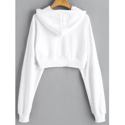 Drop Shoulder Drawstring Crop HoodieSweatshirts &amp; Hoodies<br>Drop Shoulder Drawstring Crop Hoodie<br><br>Clothing Style: Hoodie<br>Material: Polyester<br>Package Contents: 1 x Hoodie<br>Pattern Style: Solid<br>Shirt Length: Short<br>Sleeve Length: Full<br>Weight: 0.5100kg