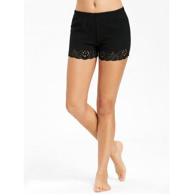 Openwork Boyleg Safety Panties