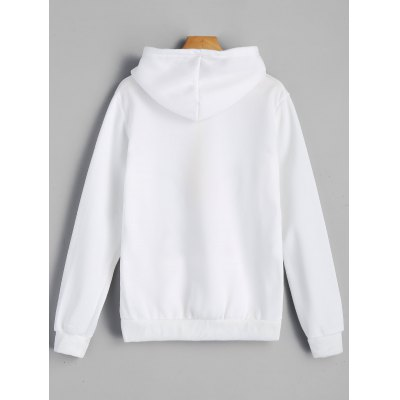 Graphic Fleece Kangaroo Pocket HoodieSweatshirts &amp; Hoodies<br>Graphic Fleece Kangaroo Pocket Hoodie<br><br>Clothing Style: Hoodie<br>Material: Cotton, Polyester<br>Neckline: Hooded<br>Package Contents: 1 x Hoodie<br>Pattern Style: Print<br>Shirt Length: Regular<br>Sleeve Length: Full<br>Weight: 0.3200kg