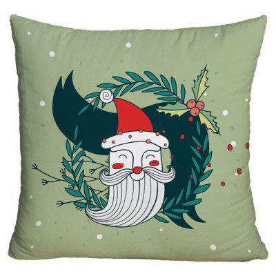 Christmas Graphic Decorative Throw Pillowcase