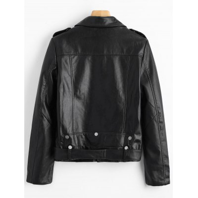 Zip Up Belted Biker JacketJackets &amp; Coats<br>Zip Up Belted Biker Jacket<br><br>Closure Type: Zipper<br>Clothes Type: Leather &amp; Suede<br>Collar: Lapel<br>Embellishment: Pockets<br>Material: PU Leather<br>Package Contents: 1 x Jacket<br>Pattern Type: Solid<br>Shirt Length: Regular<br>Sleeve Length: Full<br>Style: Fashion<br>Type: Slim<br>Weight: 0.9100kg