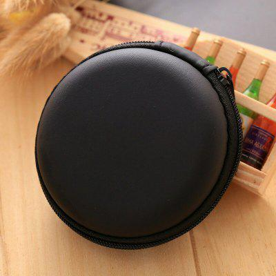 Earphone Cable Round Storage Case