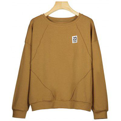 Patch Cotton Sweatshirt