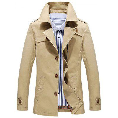 Button Up Utility Jacket for Men