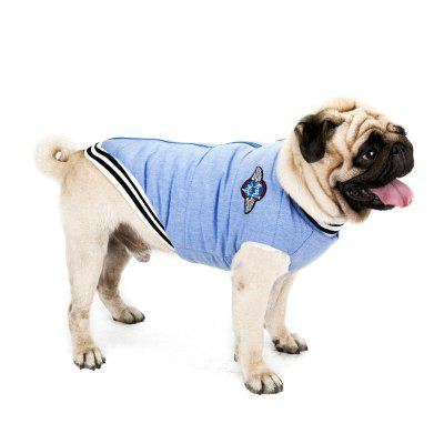 Zip Up Keep Warm Baseball Clothes for Dog