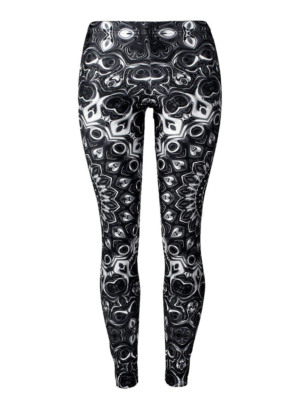 Ugly Halloween Print Leggings