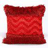 Handmade Coral Tentacles Shape Pillow Case - RED