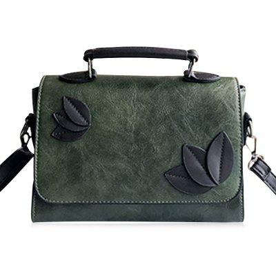 Leaves Embellishing Tote Bag