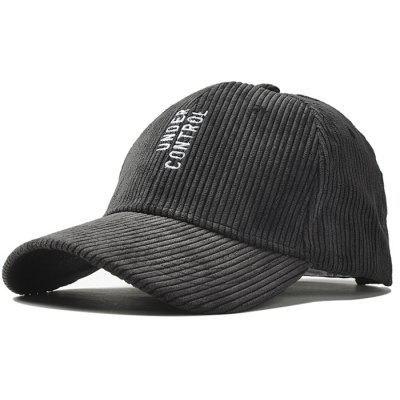 Outdoor Vertical Letter Pattern Embroidery Baseball Hat