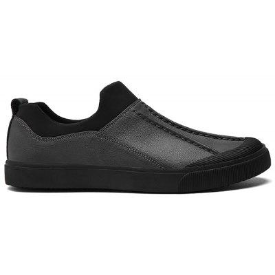 Shell Toe Low Top Casual Slip On Shoes