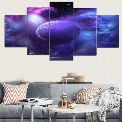Star Universe Pattern Unframed Canvas Paintings
