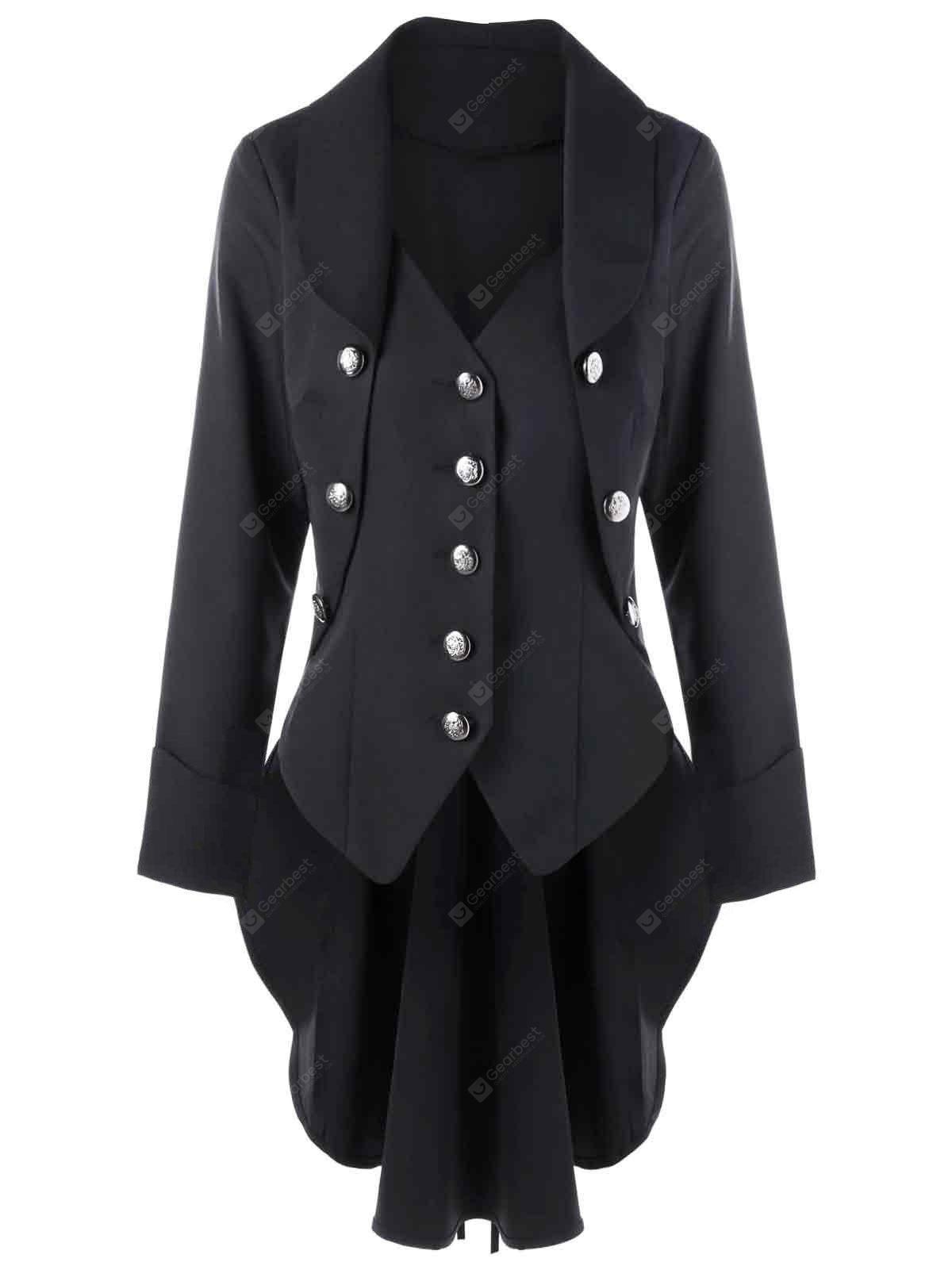 Button Up Tailcoat