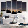 Starry Night Printed Wall Art Canvas Paintings - COLORMIX