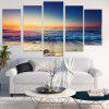 Sunset Seascape Pattern Canvas Wall Art Paintings - COLORFUL