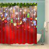 Christmas Waterproof Mouldproof Shower Curtain - COLORMIX