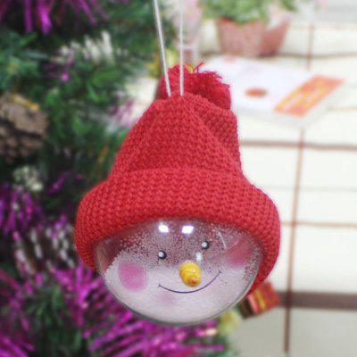 Buy Transparent Ball Dolls Christmas Tree Hangings, RED, Home & Garden, Party Supplies, Christmas Supplies for $1.61 in GearBest store