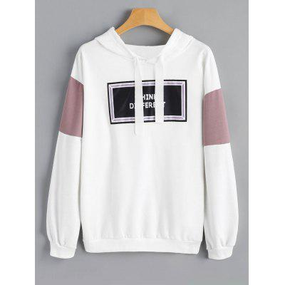 Letter Graphic Casual Hoodie