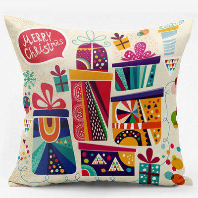 Christmas Gift Double Side Printed Decorative Throw Pillowcase