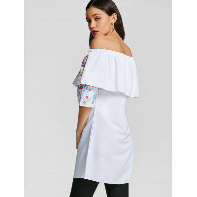 Tunic Blouse Off Shoulder The Overlay FtwnzRqx6H