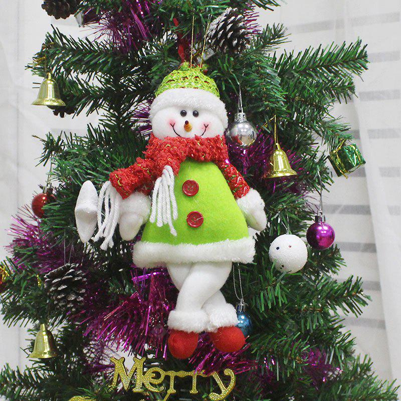 Snowman Shape Doll Christmas Tree Hang Decoration
