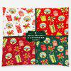 Christmas Double Side Printed Decorative Throw Pillowcase - COLORMIX
