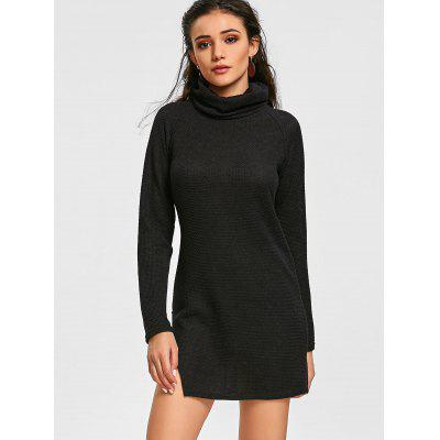 Raglan Sleeve Turtleneck Mini DressSweater Dresses<br>Raglan Sleeve Turtleneck Mini Dress<br><br>Dresses Length: Mini<br>Material: Polyester, Spandex<br>Neckline: Turtleneck<br>Occasion: Night Out, Causal<br>Package Contents: 1 x Dress<br>Pattern Type: Solid Color<br>Season: Fall, Spring<br>Silhouette: Sheath<br>Sleeve Length: Long Sleeves<br>Style: Brief<br>Weight: 0.4100kg<br>With Belt: No