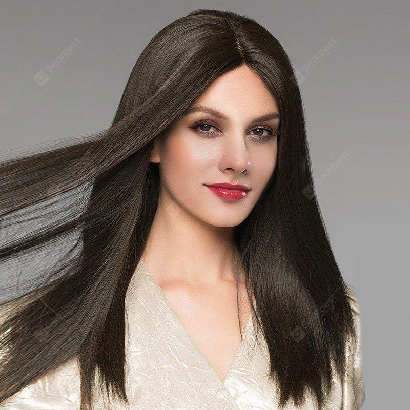 Long Middle Parting Straight Synthetic Fiber Wig