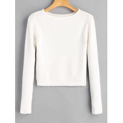 Fitting Long Sleeve Pullover Sweater