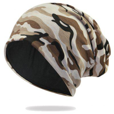 Camouflage Beanie all'Aria Aperto Embellished Slouchy
