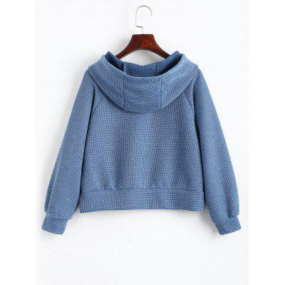 Textured Slit Raglan Sleeve HoodieSweatshirts &amp; Hoodies<br>Textured Slit Raglan Sleeve Hoodie<br><br>Clothing Style: Hoodie<br>Material: Cotton, Polyester<br>Package Contents: 1 x Hoodie<br>Pattern Style: Solid<br>Shirt Length: Regular<br>Sleeve Length: Full<br>Weight: 0.4050kg