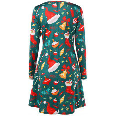 Christmas Long Sleeve Flare DressWomens Dresses<br>Christmas Long Sleeve Flare Dress<br><br>Dresses Length: Knee-Length<br>Material: Polyester, Spandex<br>Neckline: Round Collar<br>Occasion: Club, Casual<br>Package Contents: 1 x Dress<br>Pattern Type: Others<br>Season: Fall, Spring<br>Silhouette: A-Line<br>Sleeve Length: Long Sleeves<br>Style: Casual<br>Weight: 0.3700kg<br>With Belt: No