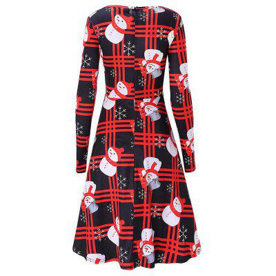Christmas Long Sleeve Snowman Print Swing DressWomens Dresses<br>Christmas Long Sleeve Snowman Print Swing Dress<br><br>Dress Type: Swing Dress<br>Dresses Length: Knee-Length<br>Material: Cotton, Polyester<br>Neckline: Round Collar<br>Package Contents: 1 x Dress<br>Pattern Type: Print<br>Season: Spring, Fall<br>Silhouette: Trapeze<br>Sleeve Length: Long Sleeves<br>Style: Brief<br>Weight: 0.3800kg<br>With Belt: No